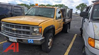 1994 Chevy C3500 Stake Rack Pickup Truck