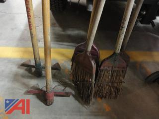 Fire Brooms and Rakes