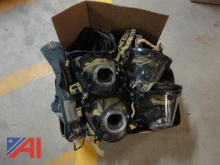 Scott Air Pack Face Pieces and Parts