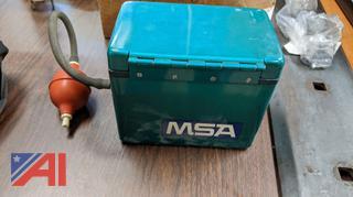 MSA Portable Oxygen Indicator
