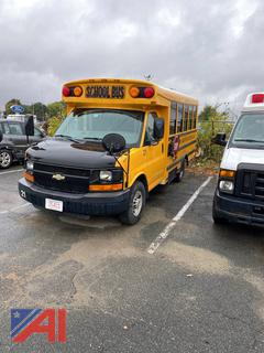 **UPDATED** RECONSTRUCTED 2009 Chevy G3500 Express Mini School Bus