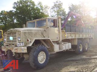 1986 AM General M929 6 x 6 Log Loader