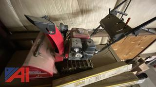 "Honda Snow Blower HS928 2 Stage 28"" Width Track Drive, Like New"
