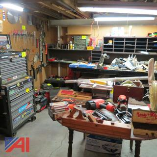 Large Lot of Household Tools