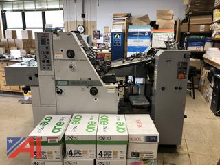 Hamada DU3411 Printing Press **UPDATED**