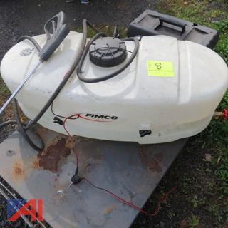 30 Gallon Sprayer Tank