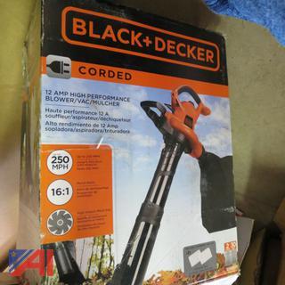 Black & Decker Blower/Vac/Mulcher