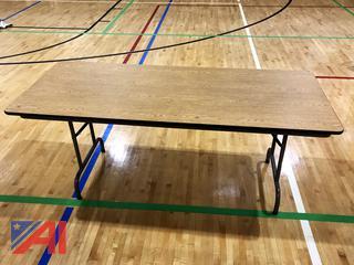 6' Laminated Folding Tables