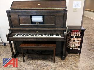 Vintage Kurtzman Player Piano