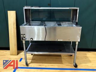 Eagle 4' 3 Bay Steam Table