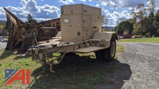 Generator Mounted on Trailer