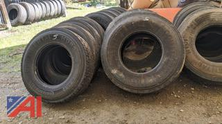 Tires off of a 10 Wheel Truck