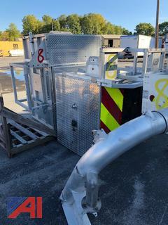Fire Truck Aluminum Buckets & Yoke **Parts Only**
