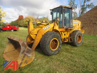 2000 John Deere 544H Wheel loader