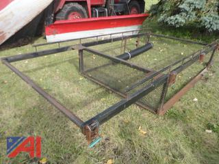 Over Cab 12' Steel Utility Rack