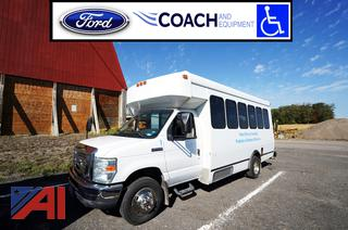 2008 Ford E450 Coach Bus/Wheel Chair
