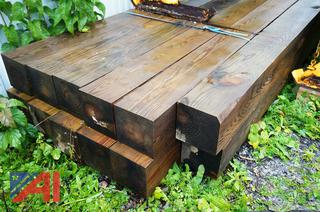 "16' x 8"" x 8"" Treated Timber"