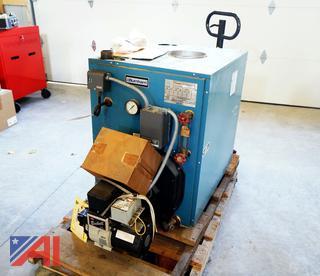 Burnham 245,000 BTU Oil Steam Boiler