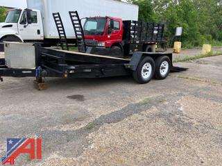 2007 Dean 18' Tilt Deck Trailer with Ramp