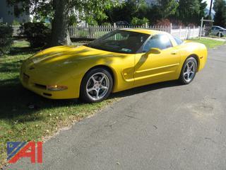 2004 Chevy Coupe Corvette
