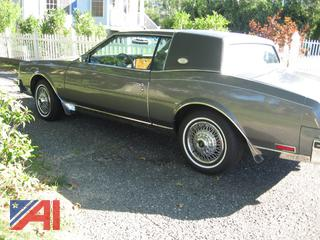1985 Buick Riviera 2 Door