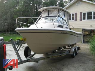 1998 Grady White 226 Seaferer Boat and 2020 Trailer