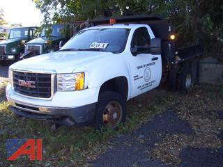 2010 GMC Sierra 3500HD Dump Truck
