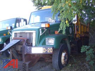 2002 Freightliner FL80 Dump Truck with Sander
