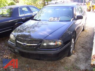 2003 Chevy Impala Sedan
