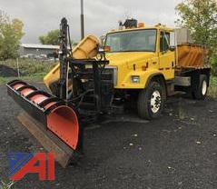 2002 Freightliner FL80 Dump Truck w/ Plow, Wing & Sander