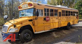 2010 Blue Bird Conventional Wheelchair School Bus