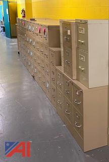 (#37) Steel File Cabinets