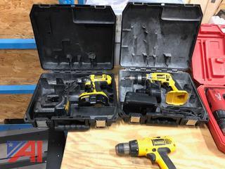 Dewalt 18 Volt Cordless Tools