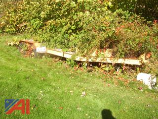 14' Wood Deck Trailer with Ramp
