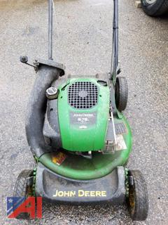 (#9) John Deere JS20 Walk Behind Mower