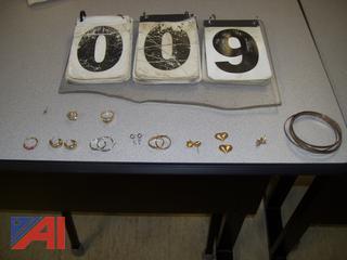 Earrings, Rings and Bracelet