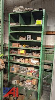 Metal Shelving and Contents
