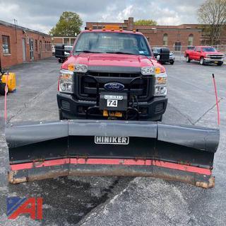 2014 Ford F250 Pickup Truck w/ Plow