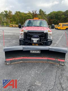 2014 Ford F250 Pickup Truck w/ Plow & Liftgate