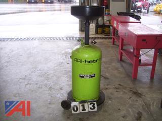 Ari-Hetra Waste Oil tank
