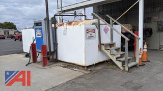 3000 Gallon Diesel Tank with Pump & Mote