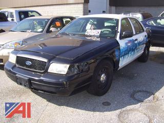 2006 Ford Crown Victoria 4 Door/Police Interceptor