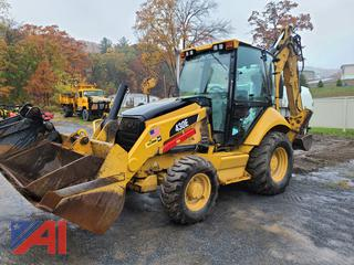 2008 Caterpillar 430E Backhoe with Front Loader