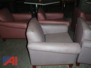 (#65) Padded TV Chairs