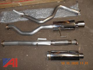 Performance Exhaust Pipes & Mufflers