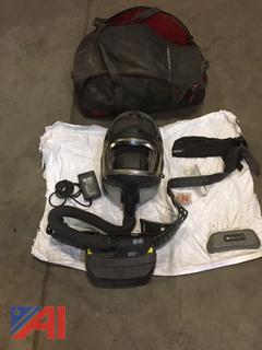 Welding Helmets With Respirators and Carrying Cases