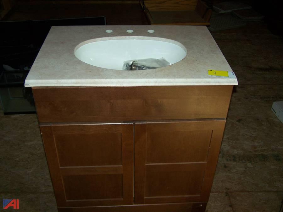 Auctions International Auction Surplus Liquidation Ny 22869 Item Bathroom Vanity