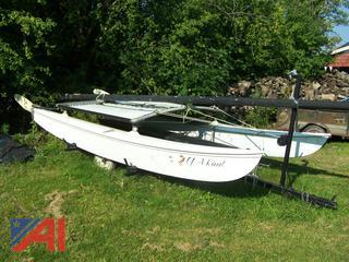 17' Sail Boat