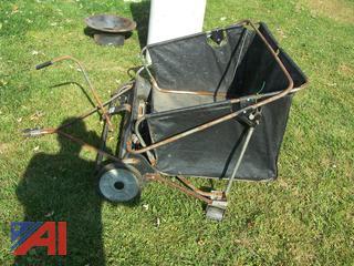 Precision Pro Lawn Leaf Sweeper