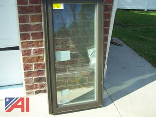 Awning Windows with Screens
